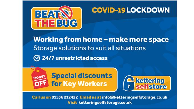 Lets Beat the Coronavirus Bug! Special Storage Discounts for Key Workers