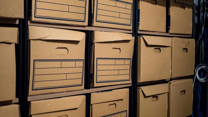 Archive Storage in Kettering